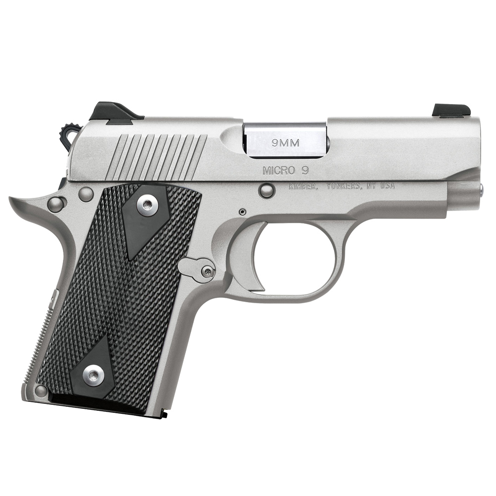 KIMBER Micro 9 STS 9mm 3.15in 7rd Stainless Semi-Auto Pistol 3700636) thumbnail