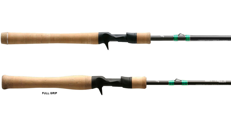 13 FISHING Omen Green 2 Casting Rod