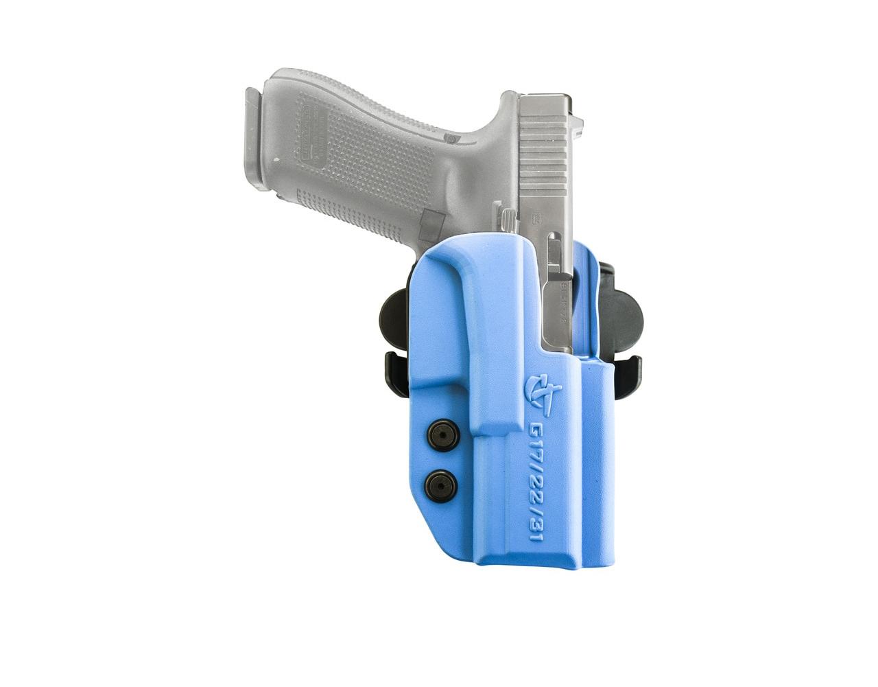COMP-TAC International Right Hand Blue OWB Holster For Glock 17/22/31 Gen 1-4 (C241GL043RBUN)