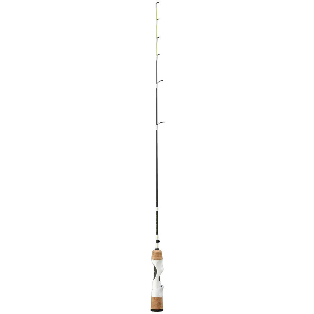 13 FISHING Tickle Stick Ice Rod with White Reel Seat