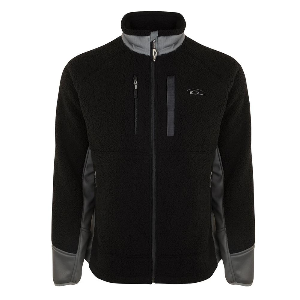 DRAKE Sherpa Fleece Layering Jacket