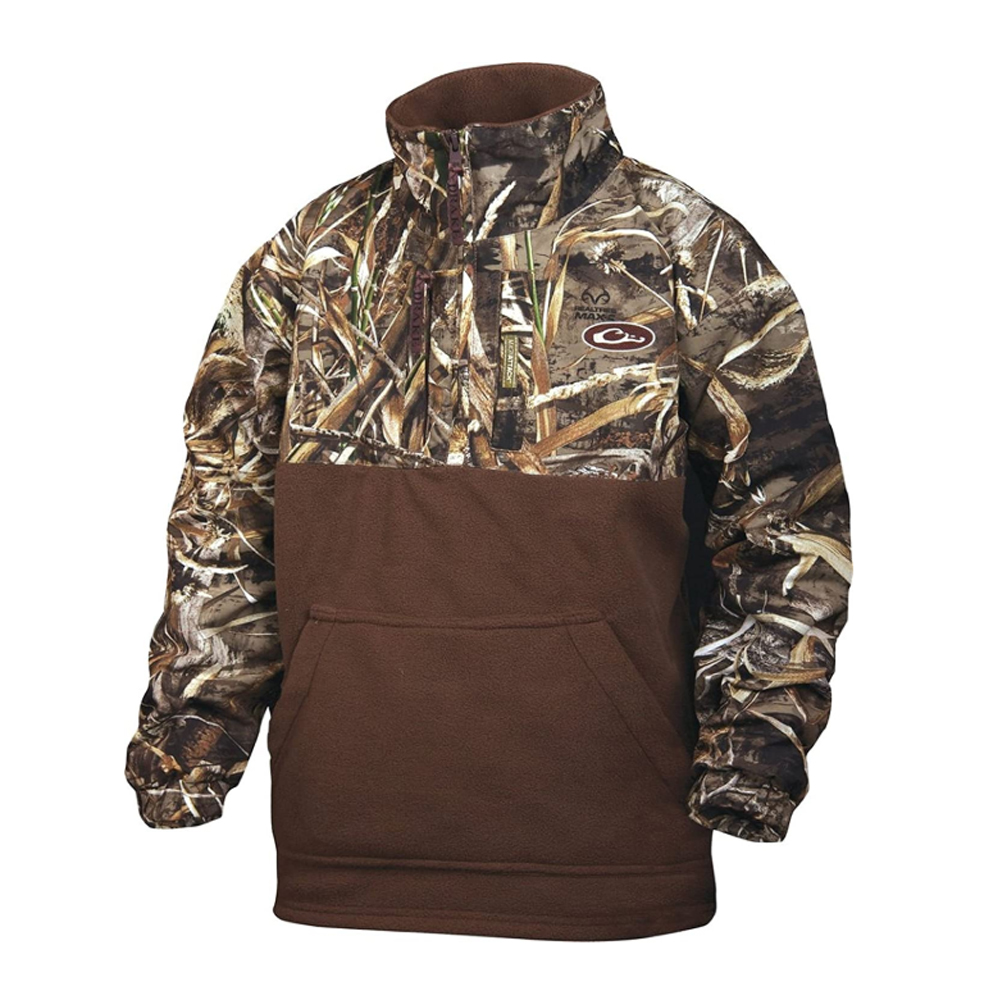 DRAKE Youth MST Eqwader 1/4 Zip Jacket