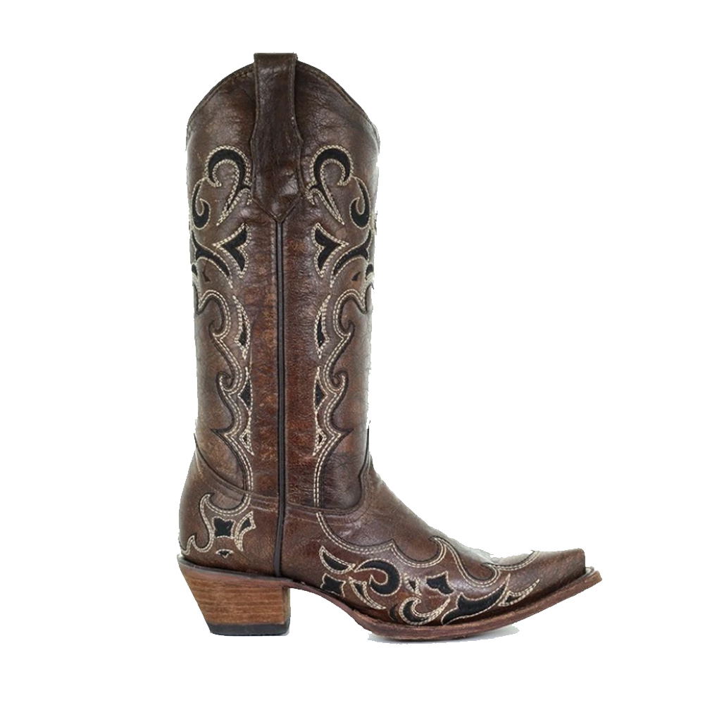 CORRAL Womens Side Embroidery Boots (L5247-LD)