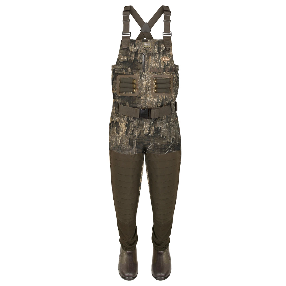 DRAKE Guardian Elite Breathable Chest Wader with Tear Away Insulated Liner, Regular Boot