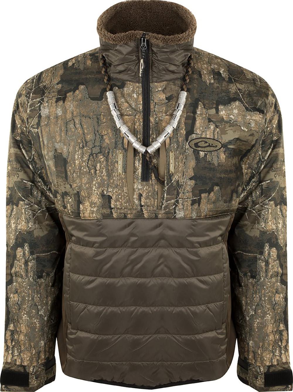 DRAKE LST Guardian Flex Double Down Eqwader Zip Jacket