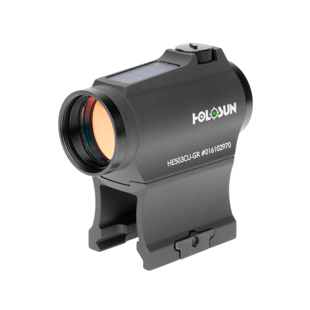 HOLOSUN HE503CU Elite 20mm Multi-Reticle System Green LED Dot Sight (HE503CU-GR)