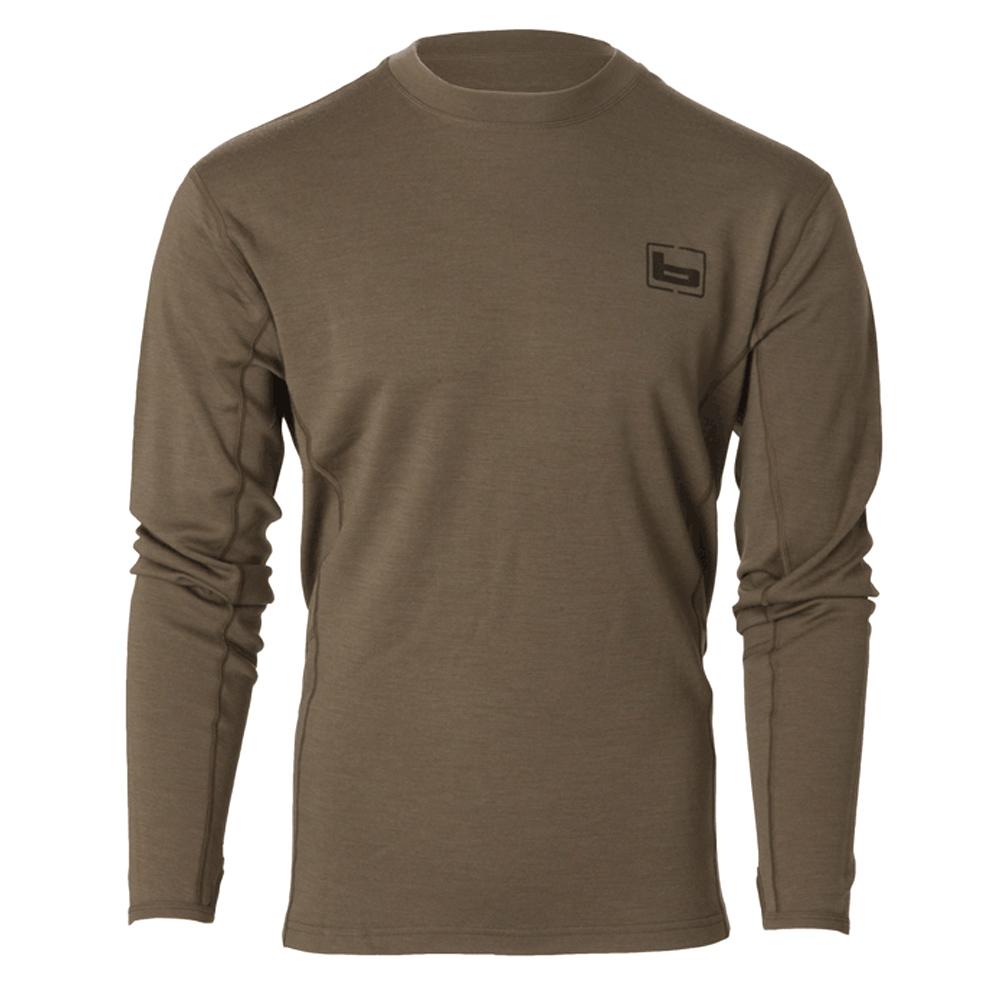 BANDED Base Merino Wool 230-Gram LS Crew Top (B1030018-CH)