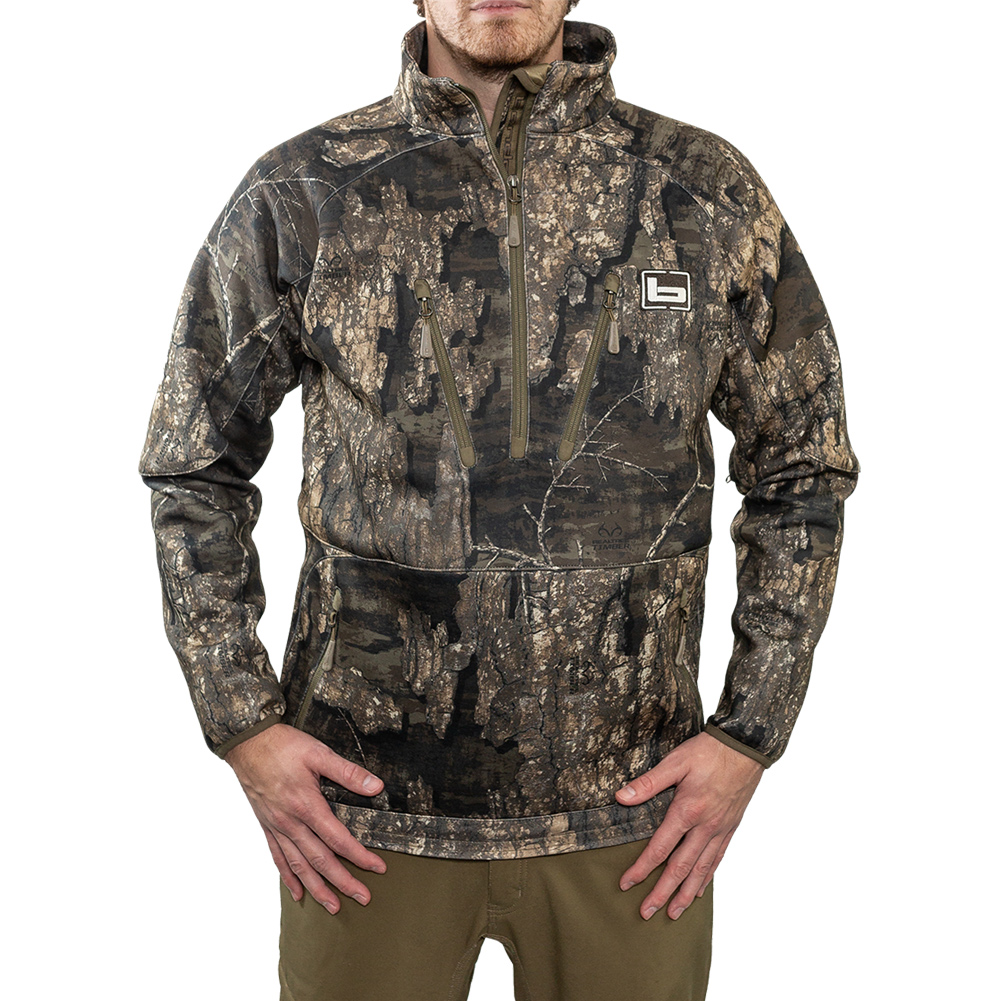 BANDED Heavy Tec Fleece 1/2 Zip Pullover (B1010026)