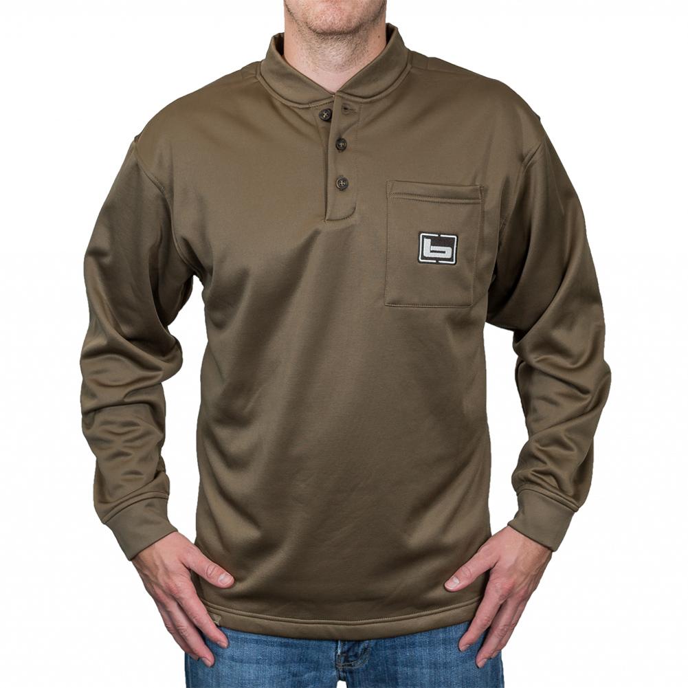 BANDED Tec Fleece Henley Shirt (B1030006)