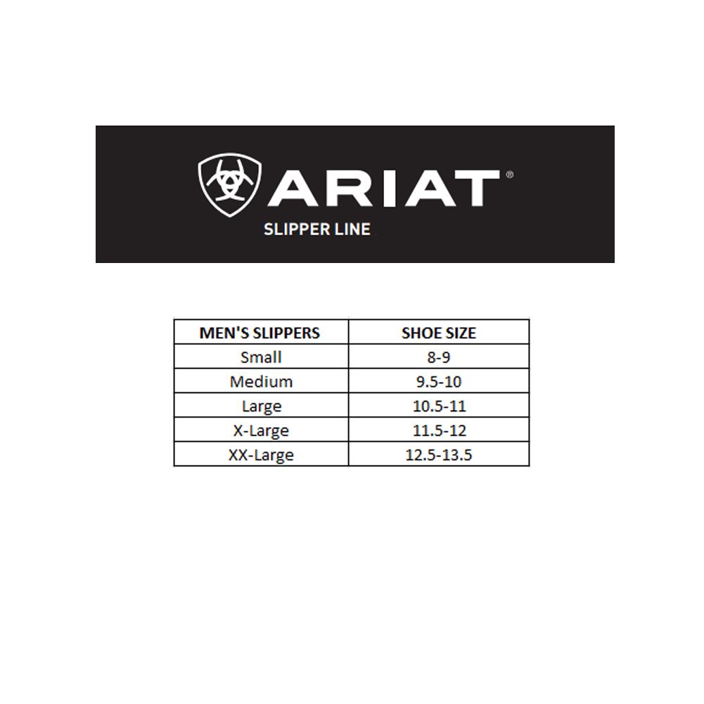 ARIAT Men's Suede Scuff Slipper (AR2268)