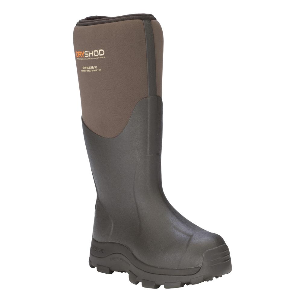 DRYSHOD Mens Overland Khaki/Timber Boot (OVR-MH-KH)