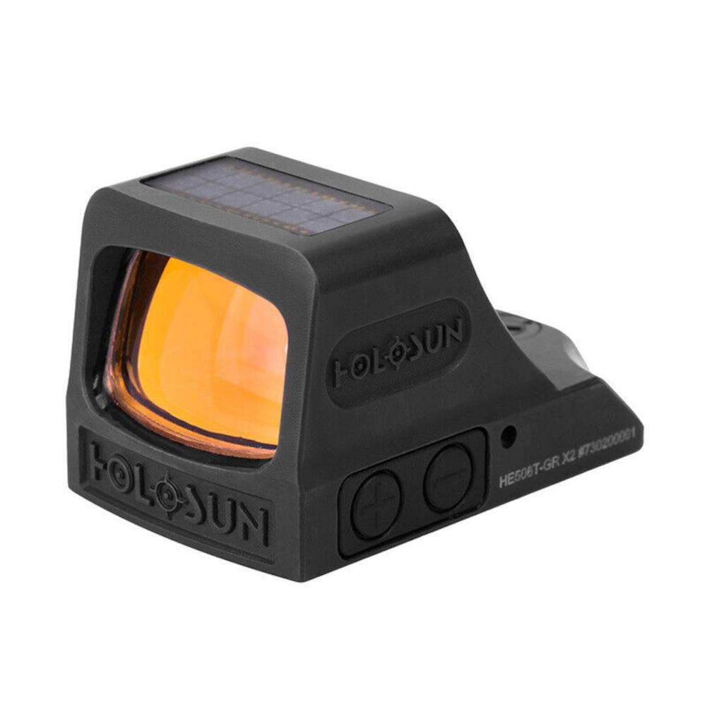 HOLOSUN HE508T-GR X2 Green Dot Reflex Sight (HE508T-GR-X2)