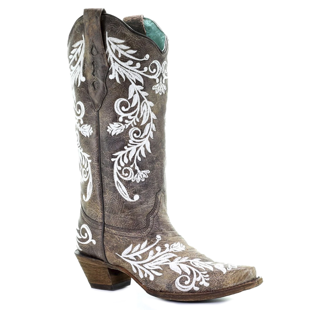 CORRAL Women's Embroidery Glow Collection Boot (A3753-LD)