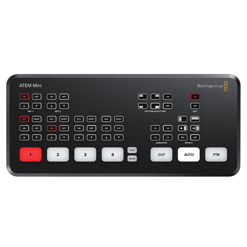BLACKMAGIC DESIGN ATEM Mini Stream Switcher (SWATEMMINI)