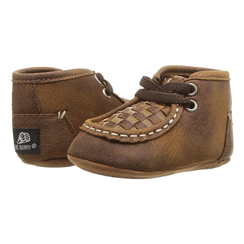 BLAZIN' ROXX Infant Carson Baby Bucker Brown Chukka Moc Casual Shoe (4424802)