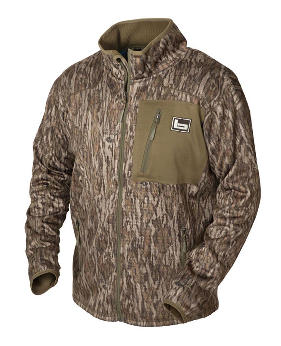BANDED Mid Layer Full Zip Fleece Jacket