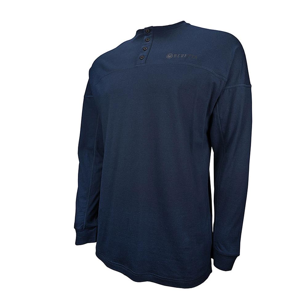 BERETTA Men's Henley Long Sleeve Shirt