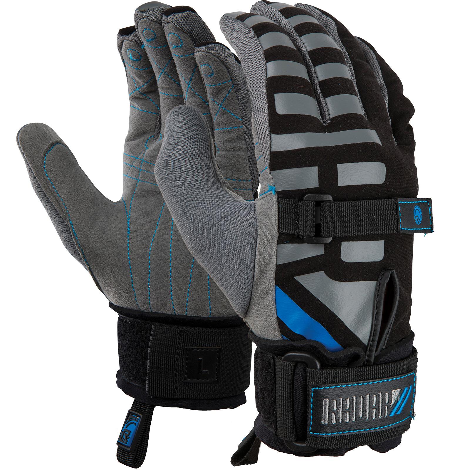 RADAR Voyage Black/Silver/Blue Gloves (215063-par)