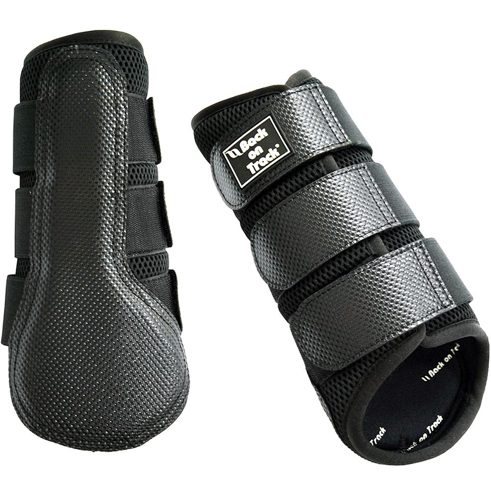 BACK ON TRACK Black Splint Boots (208000)