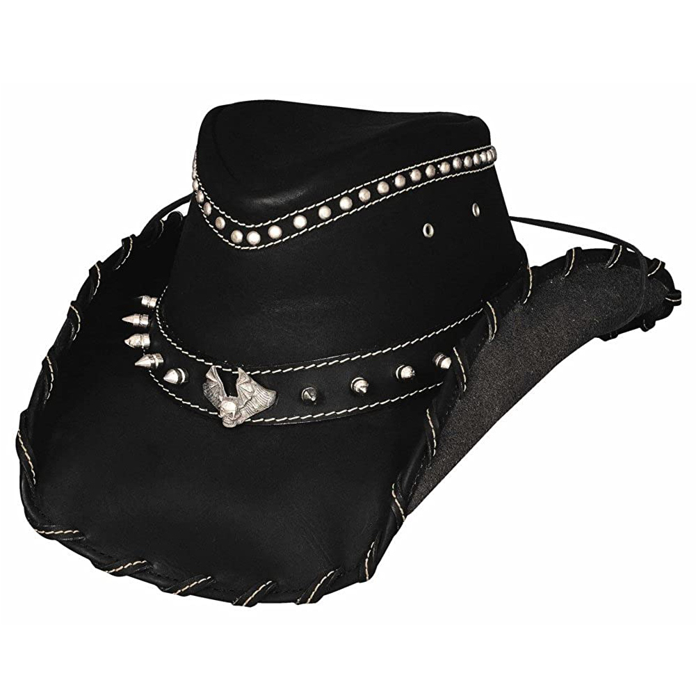 BULLHIDE Iron Road Black Cowboy Hat (4022BL)