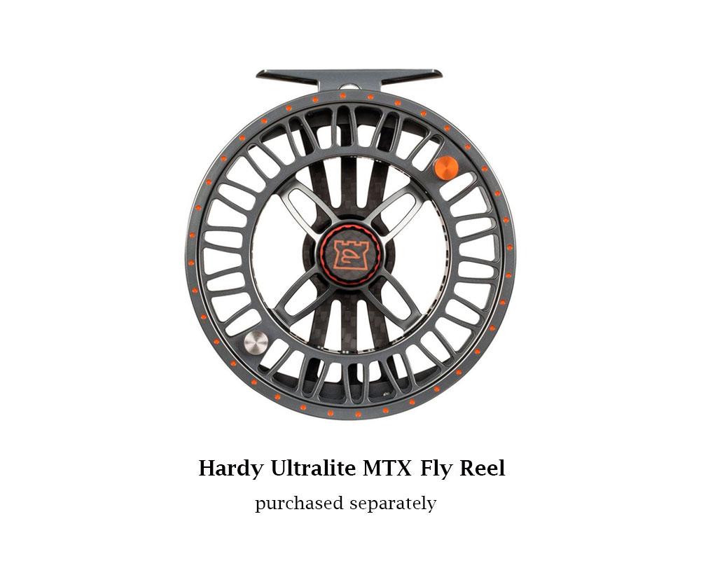 HARDY Ultralite MTX Titanium/Orange Fly Spare Spool