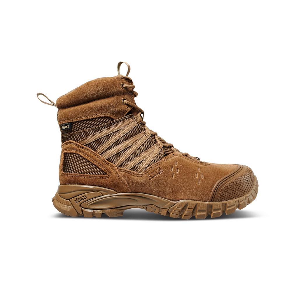 5.11 TACTICAL Union 6in Waterproof Dark Coyote Hiking Boot (12390-106)