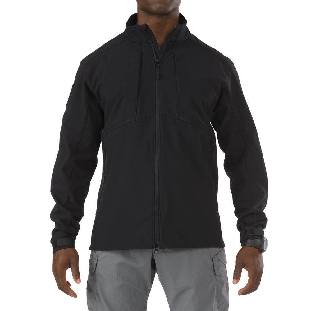 5.11 TACTICAL Men's Sierra Softshell Black Jacket (78005-019)