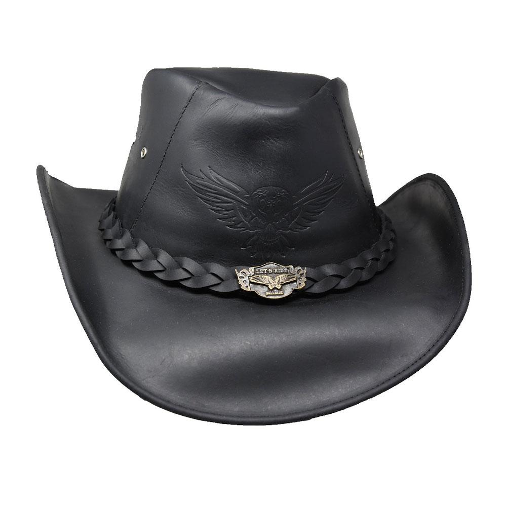 BULLHIDE King Of The Road Black Cowboy Hat (4031BL)