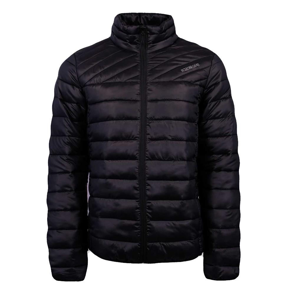 BOULDER GEAR Mens All Day Black Puffy Jacket (2847R-001)