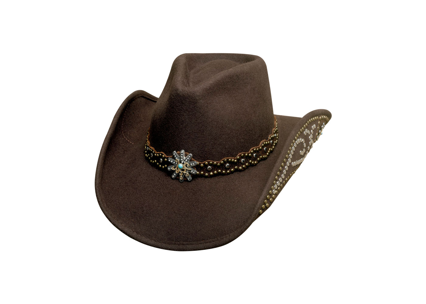 BULLHIDE Womens Your Everything Chocolate Cowboy Hat (0701CH)
