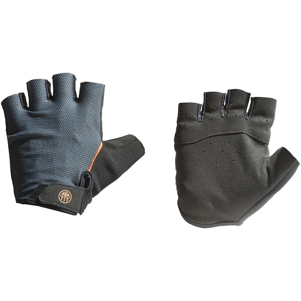 BERETTA Black/Gray Fingerless Gloves (GL321T15840903)