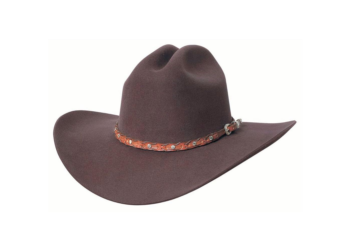 BULLHIDE Pistol Pete 6x Chocolate Cowboy Hat (0397CH)