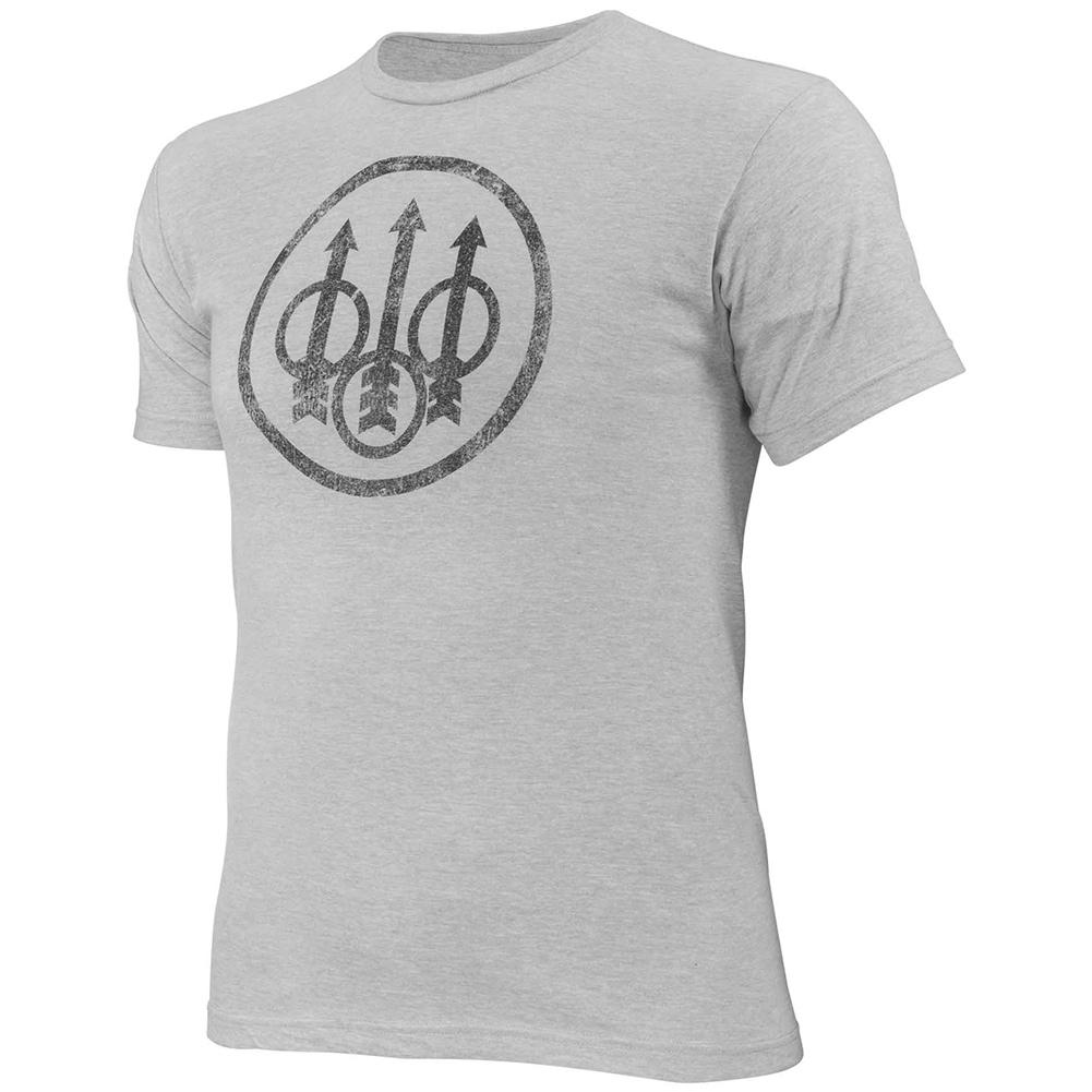 BERETTA Men's Distressed Trident Short Sleeve T-Shirt