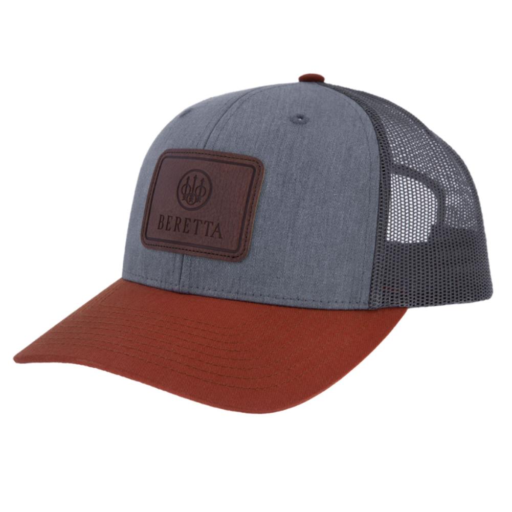 BERETTA Oua 112 Patch Charcoal/Grey Trucker Hat (BC028T1675092B)