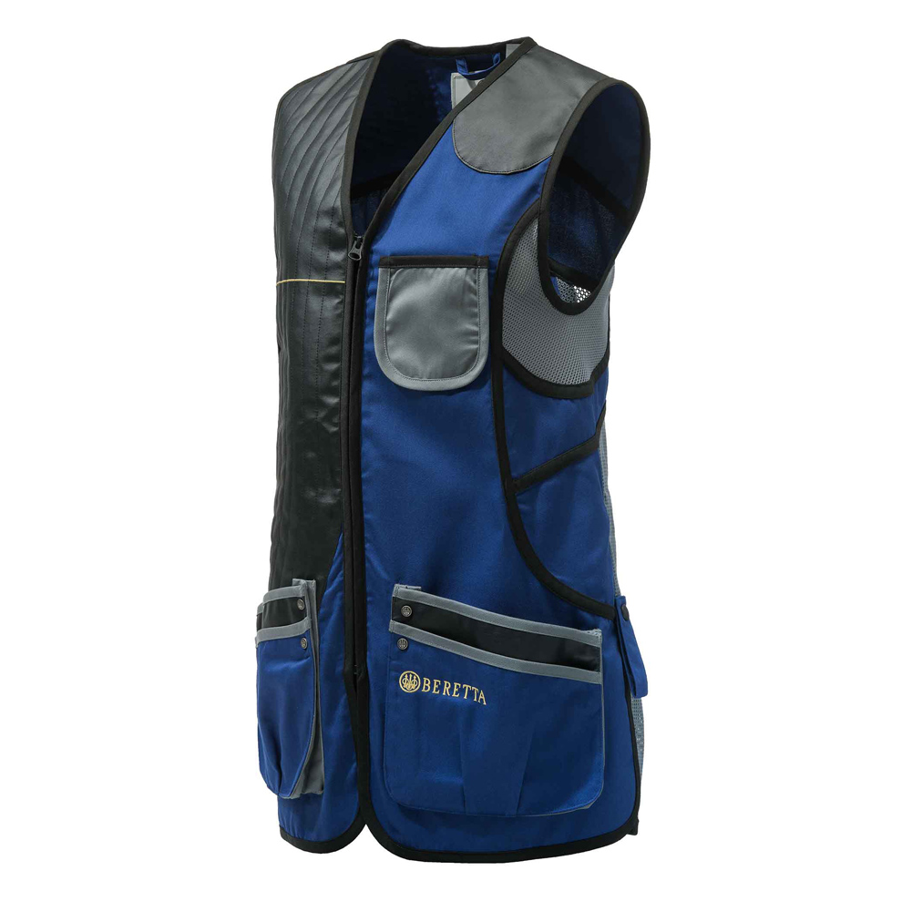 BERETTA Women's Royal Blue/Gray Sporting Vest (GT023T1553059J)