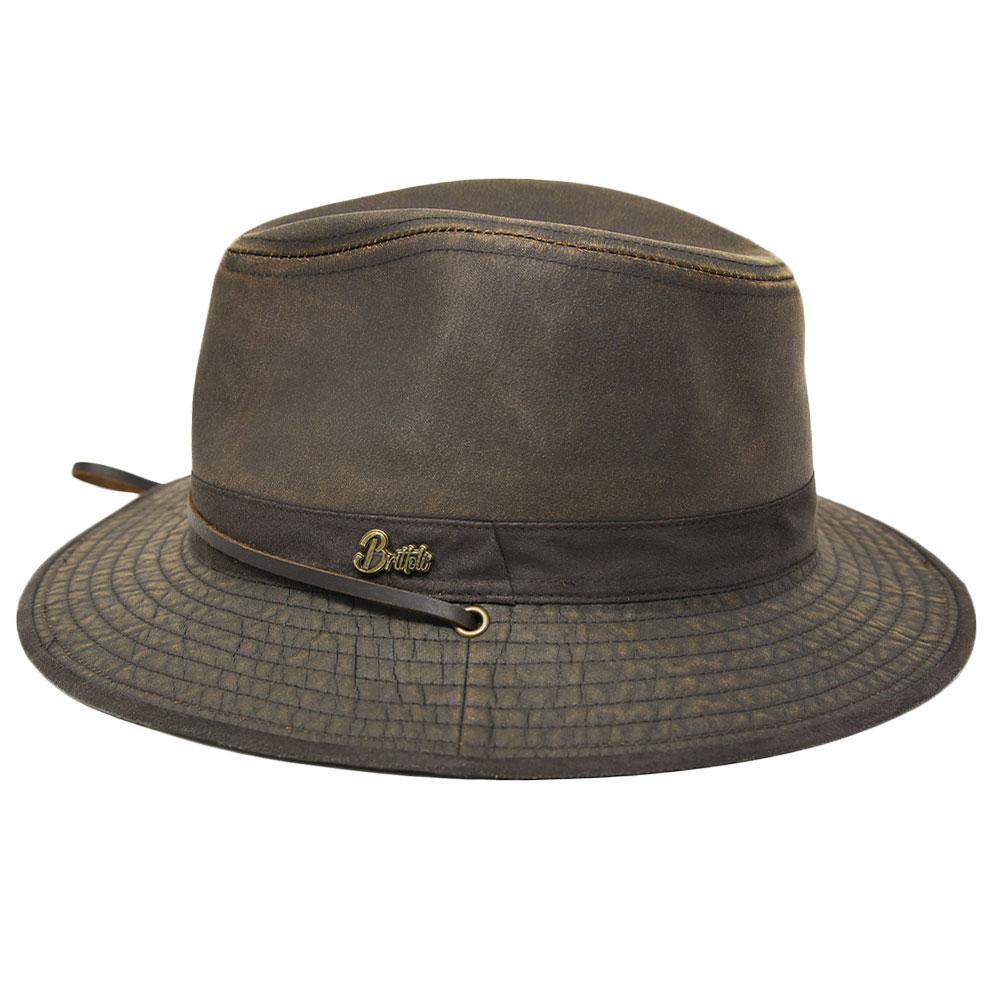 BULLHIDE Rochdale Chocolate Hat (BR0005)