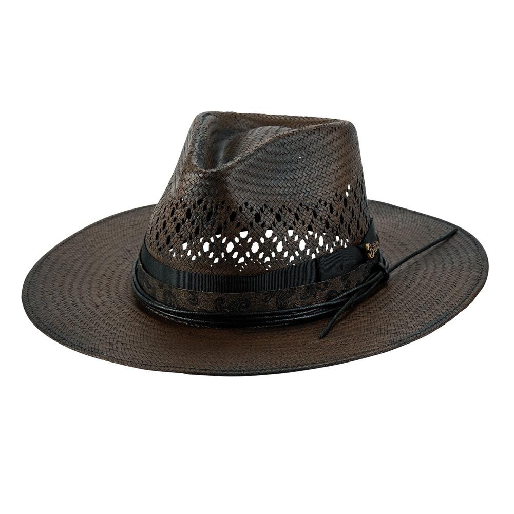 BULLHIDE Inspired Chocolate Straw Cowboy Hat (BR0024)