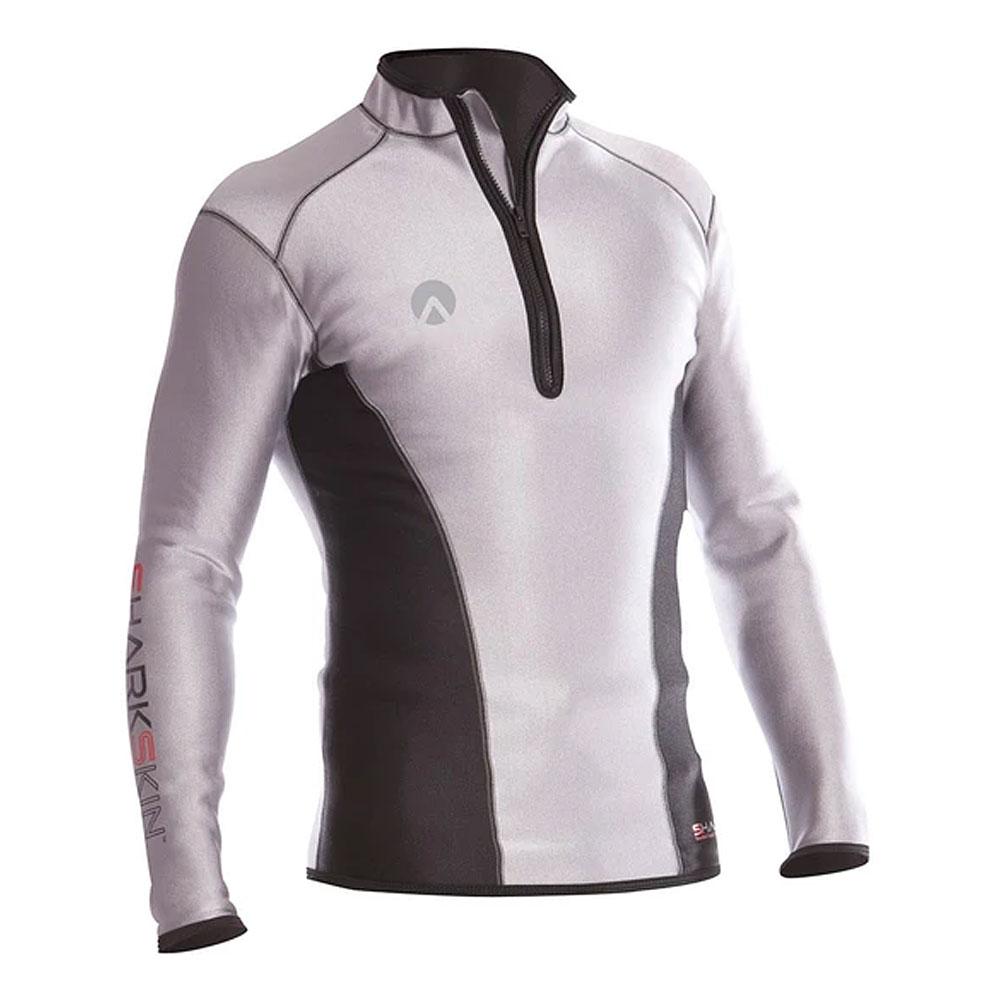 SHARKSKIN Men's Chillproof Long Sleeve Chest Zip Shirt