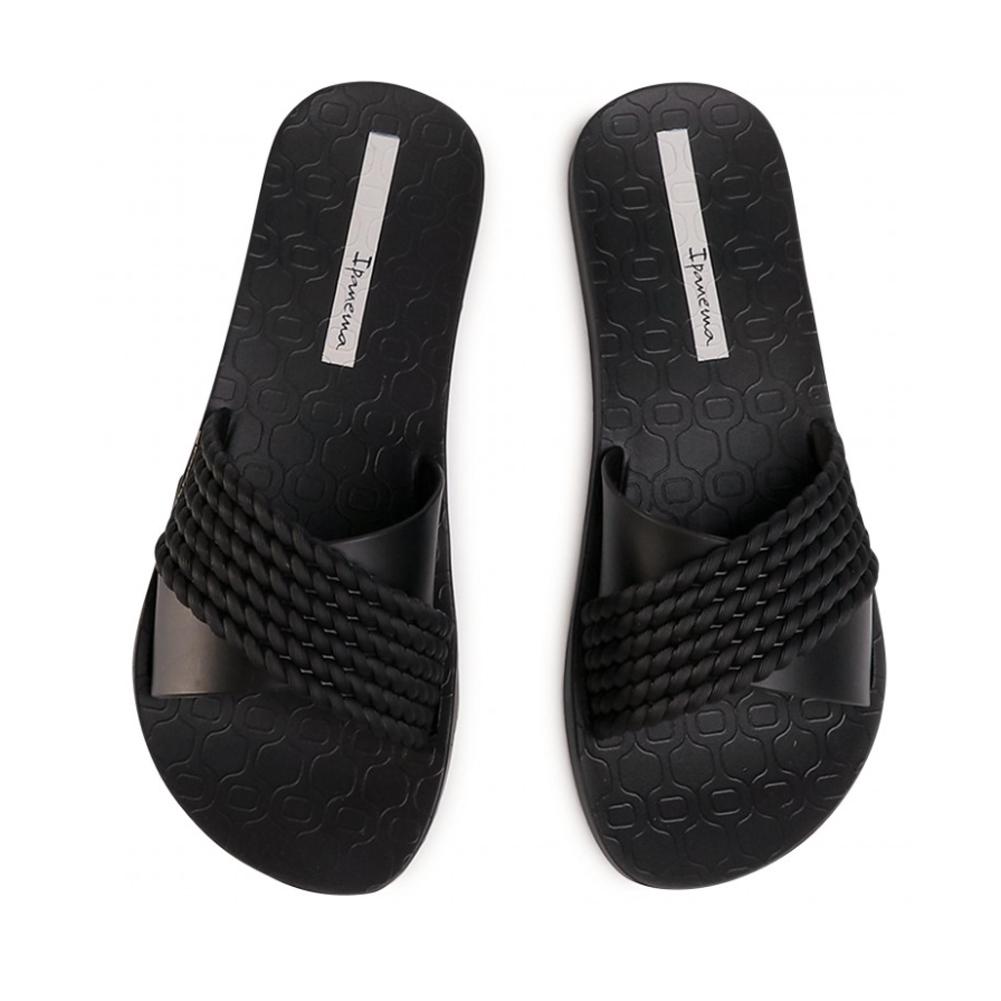 IPANEMA Street Black Sandals (26400-001)