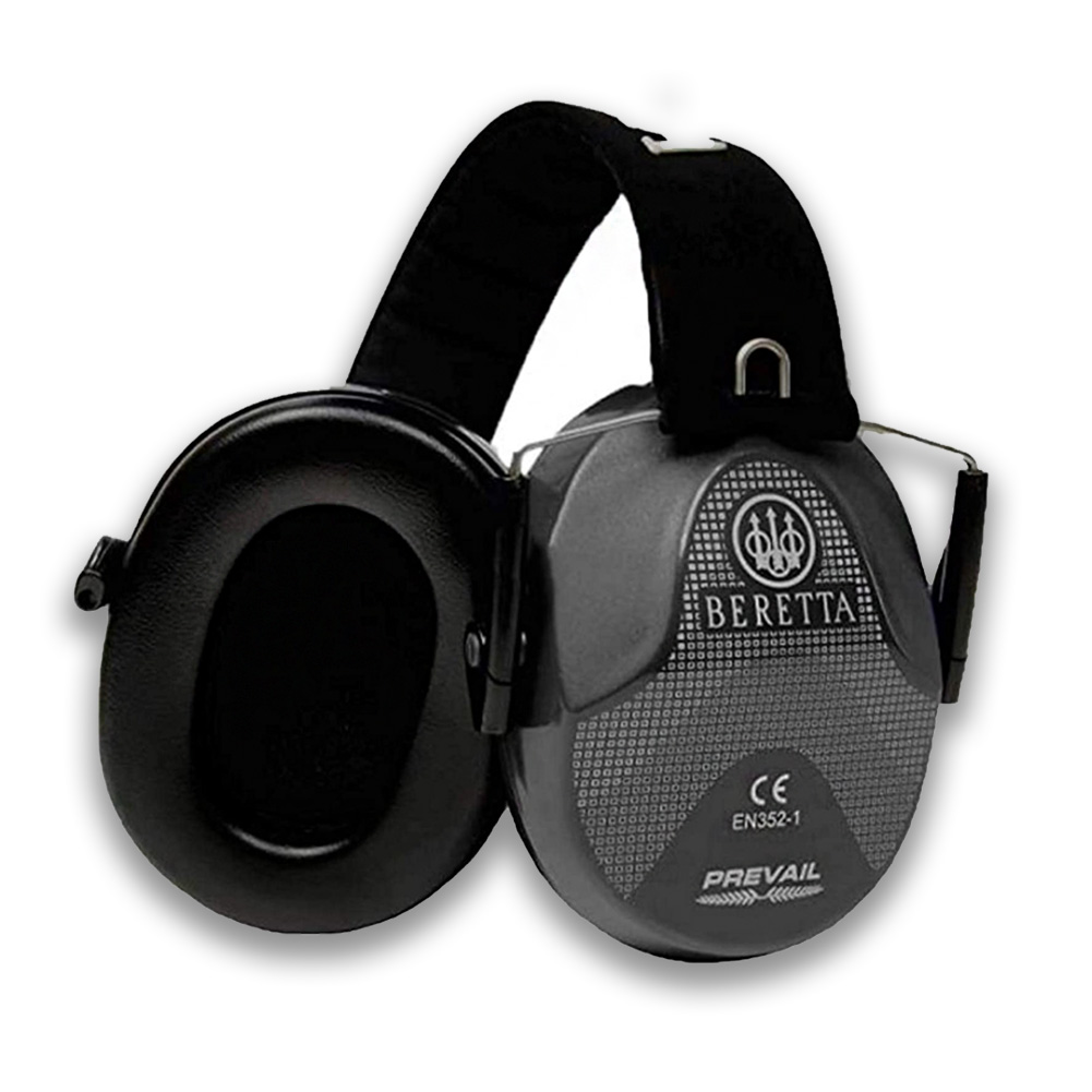 BERETTA Performance Plastic Frame Shooting Glasses & Standard Adjustable Earmuff