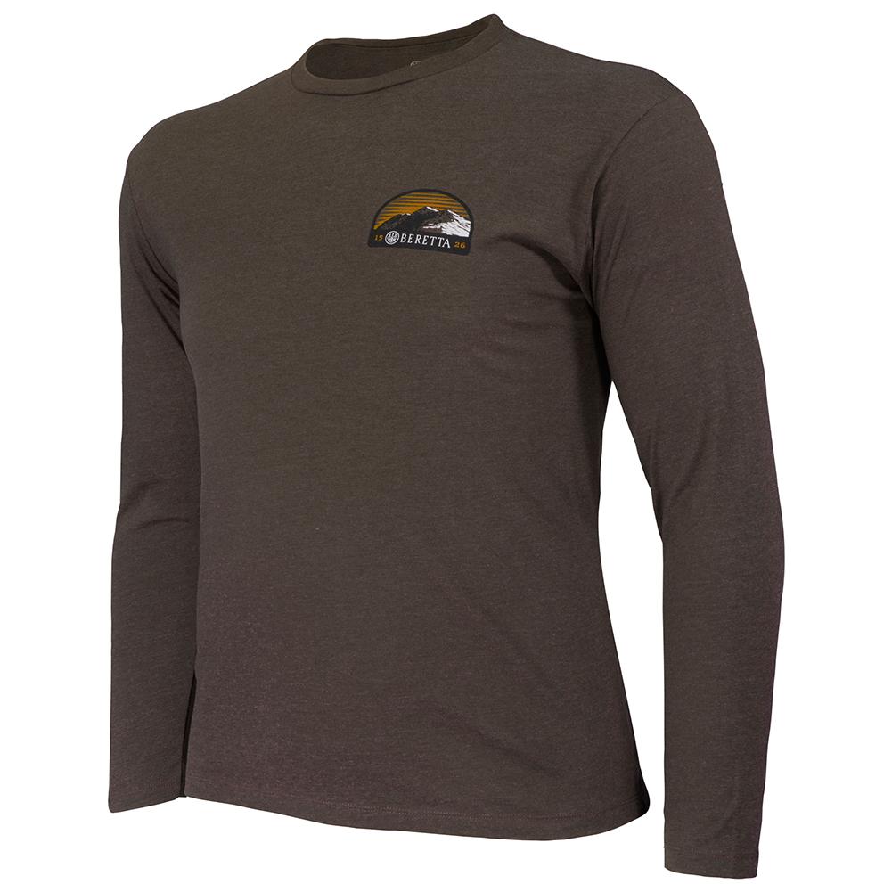 BERETTA Mens Peak Elevation Green T-Shirt (TS200T18900715)