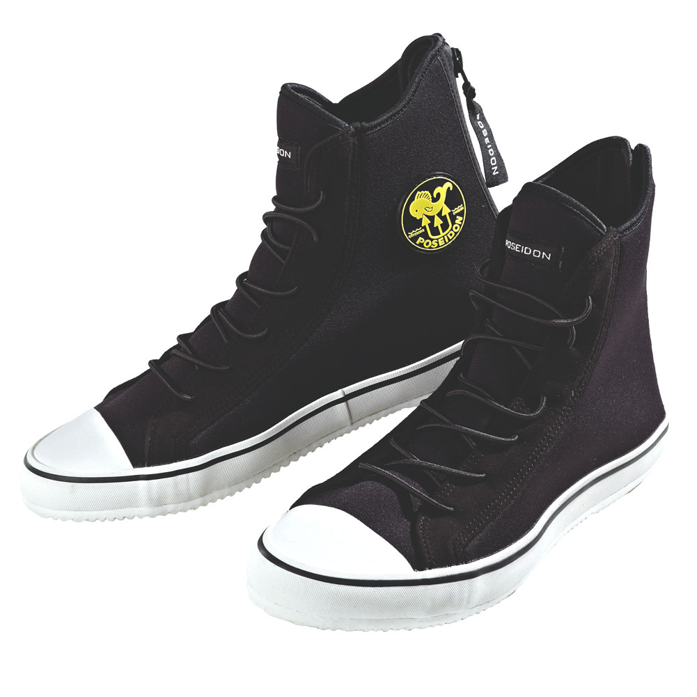 POSEIDON One Shoe Red/Black Dive Boot (0251-83)