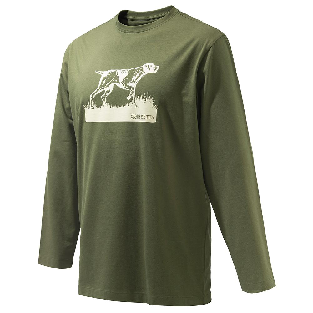 BERETTA Men's Pointer Sketch Long Sleeve T-Shirt