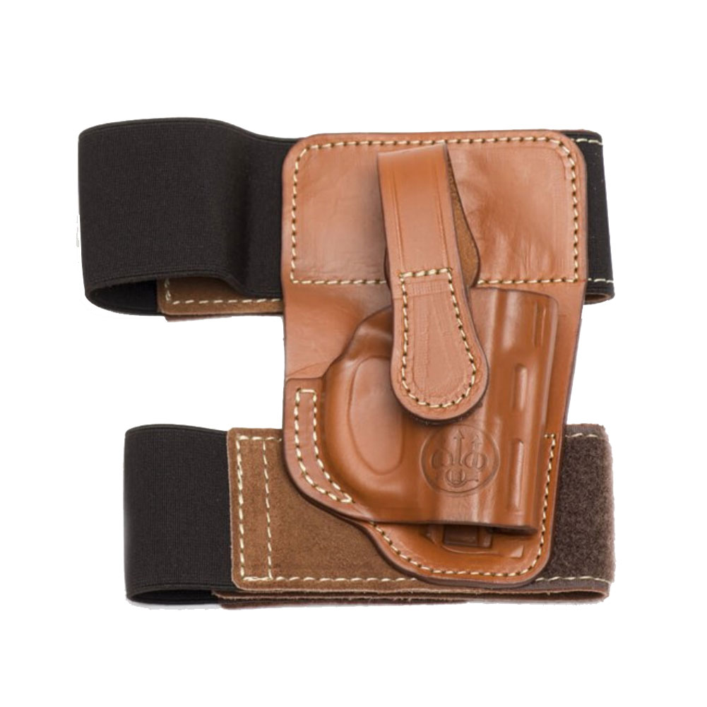 BERETTA Mod. C Right Hand Brown Ankle Holster For Tomcat (E02237)
