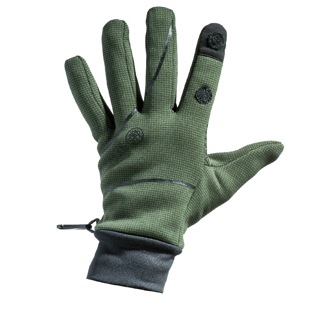 BERETTA Men's Polartec Wind Pro Green Glove (GL271T06570715)