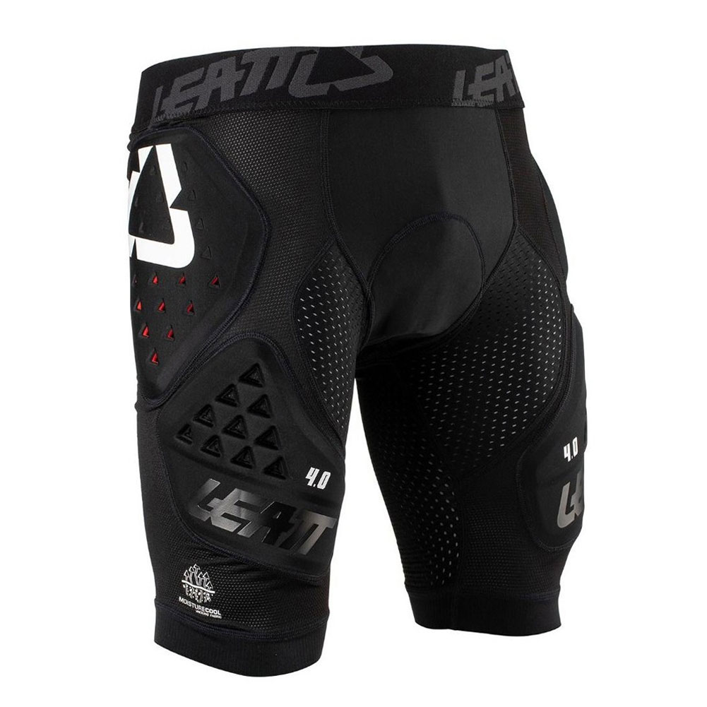 LEATT 3DF Black Impact Shorts