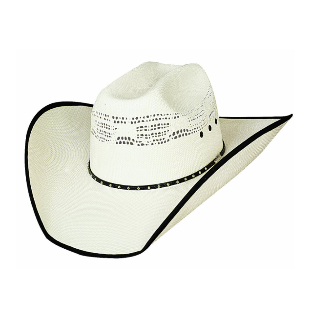 BULLHIDE Beer Time 20x Natural Straw Hat (2696)
