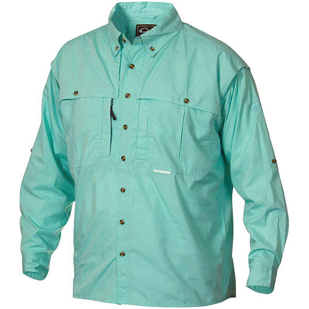 DRAKE Cotton Wingshooter's Long Sleeve Shirt with Staycool Fabric (DS1101)