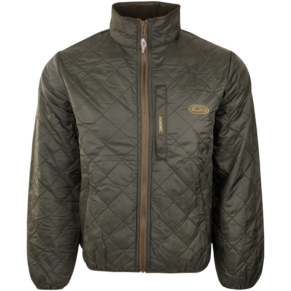 DRAKE Delta Quilted Fleece Lined Jacket (DW1071)