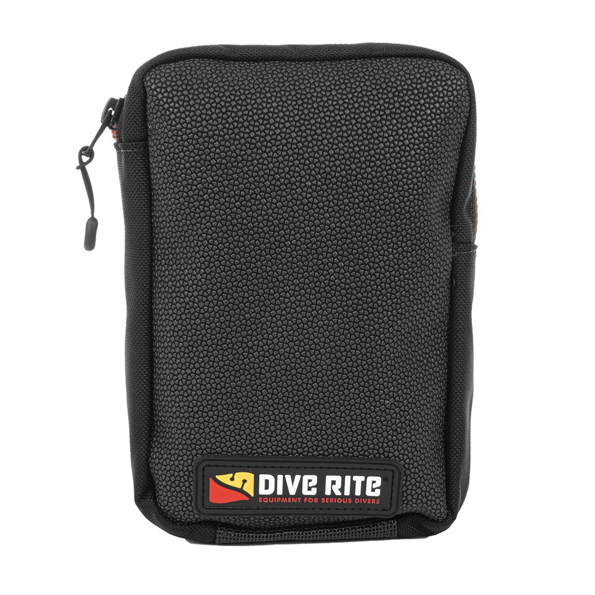 DIVE RITE Bellows Vertical Zipper Pocket with Daisy Chain (AC3203)
